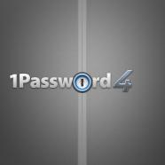 1Password 4 Logo