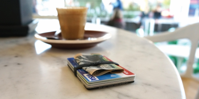 Silo Mesh Card Wallet RFID Protect Function