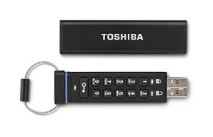Toshiba Encrypted USB Flash Drive Feature Image
